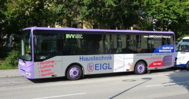 Neue Buswerbung!