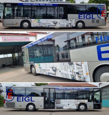 Neuer Linienbus!